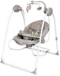Бебешка люлка 2 в 1 - Tango 2021 - С вибрация, мелодии и дистанционно управление -