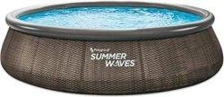 Кръгъл надуваем басейн - Summer Waves Quick Set -