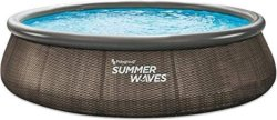 Кръгъл надуваем басейн - Summer Waves Quick Set - басейн