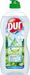 Препарат за миене на съдове - Pur ProNature - Разфасовка от 0.500 l - продукт