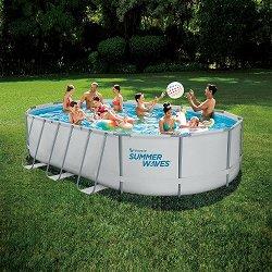 Овален сглобяем басейн - Summer Waves Active Frame -