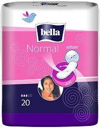 Bella Normal - Дишащи дамски превръзки в опаковка от 20 броя - дамски превръзки