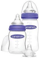 Бебешки шишета за хранене с широко гърло - Natural Wave 160 ml и 240 ml - продукт