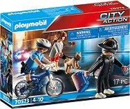 Преследване на обирджия с колело - играчка