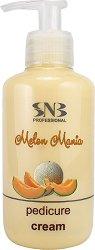 SNB Melon Mania Pedicure Cream - душ гел