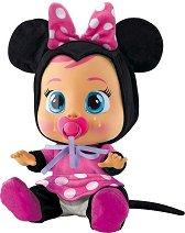 Cry Babies - Мини Маус - Плачеща кукла бебе с аксесоари -