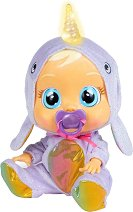 Cry Babies - Нарви със светещ рог - Плачеща кукла бебе с аксесоари -