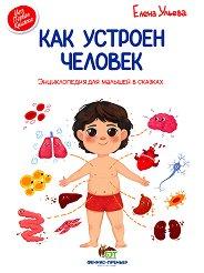 Моя первая книжка: Как устроен человек - Елена Ульева -