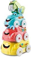 """Пирамида - Забавни автомобил - Комплект играчки от серията """"Play For Future"""" -"""