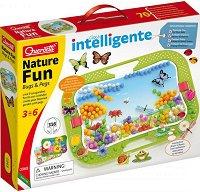 Мозайка - Nature Fun: Bugs and Pegs - играчка