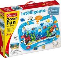 Мозайка - Ocean Fun: Fish and pegs -