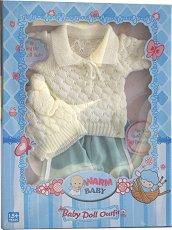 Зимни дрешки - Warm Baby - кукла