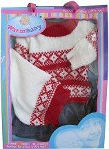 Зимни дрешки - Warm Baby - играчка