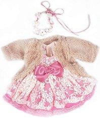 Дрехи за кукла с височина 42 cm - кукла