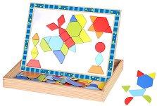 Двустранна магнитна дъска - Цветове и форми -