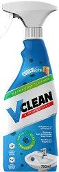 Почистващ и дезинфекциращ спрей за баня - V Clean -