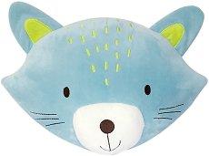 Плюшена възглавница - Коте -