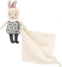 Мишлето Mousse с кърпичка - играчка