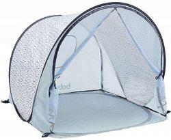 Сгъваема детска палатка с UV защита 50+ - Blue Waves -