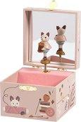 Музикална кутия за бижута - Коте - играчка