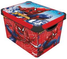 Кутия за съхранение - Спайдърмен - творчески комплект