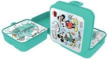 Кутия за храна - Мики и Мини Маус - пъзел