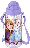 Бутилка за вода - Елза и Анна - играчка