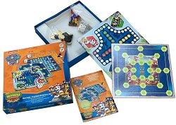 Комплект от 4 класически игри - Пес Патрул - пъзел