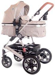 Комбинирана бебешка количка - Lora 2021 -