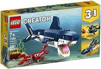 LEGO: Creator - Създания от морските дълбини 3 в 1 - играчка