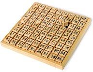Дървена таблица за умножение -
