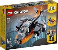 LEGO: Creator - Кибер дрон 3 в 1 -