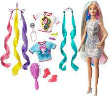 Барби - Цветна коса - фигура