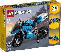 LEGO: Creator - Супер мотоциклет 3 в 1 - играчка
