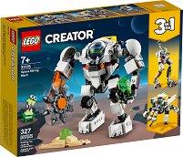 LEGO: Creator - Космически миньорски робот 3 в 1 - играчка