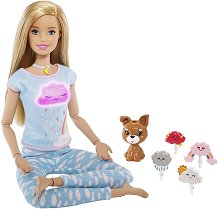Барби - Йога инструктор с аксесоари - играчка