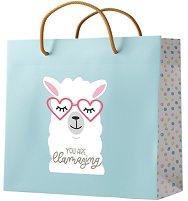 Подаръчна торбичка - You Are Llamazing -