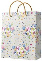 Подаръчна торбичка - Happy Birthday -