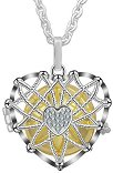 Медальон за бременни - Сърце - аксесоар