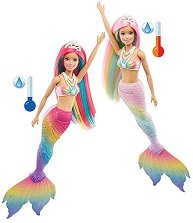 Барби - Русалка със сменящ се цвят -