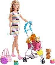 Барби - На разходка с кученца -