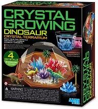 Направи си сам - Кристален терариум с динозаври -