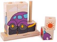 Кубчета за нанизване - Превозни средства - количка