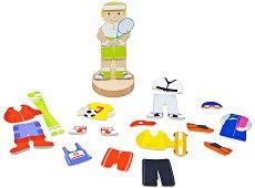 Облечи момчето - Спортни дейности - играчка