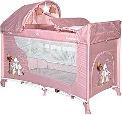 Сгъваемо бебешко легло на две нива - Moonlight 2 Layers Rocker -