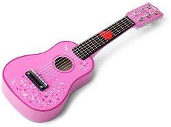 Дървена китара -