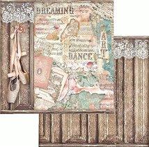 Хартия за скрапбукинг - Обувки за балет