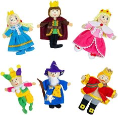 Кукли за пръстчета - Кралски особи -