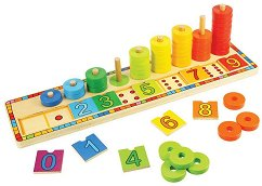 Уча се да броя - играчка