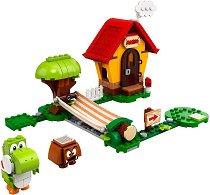 LEGO: Super Mario - Къщата на Супер Марио и Йоши - играчка